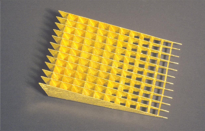 Brosche  1992  Gold  750  80x46  mm