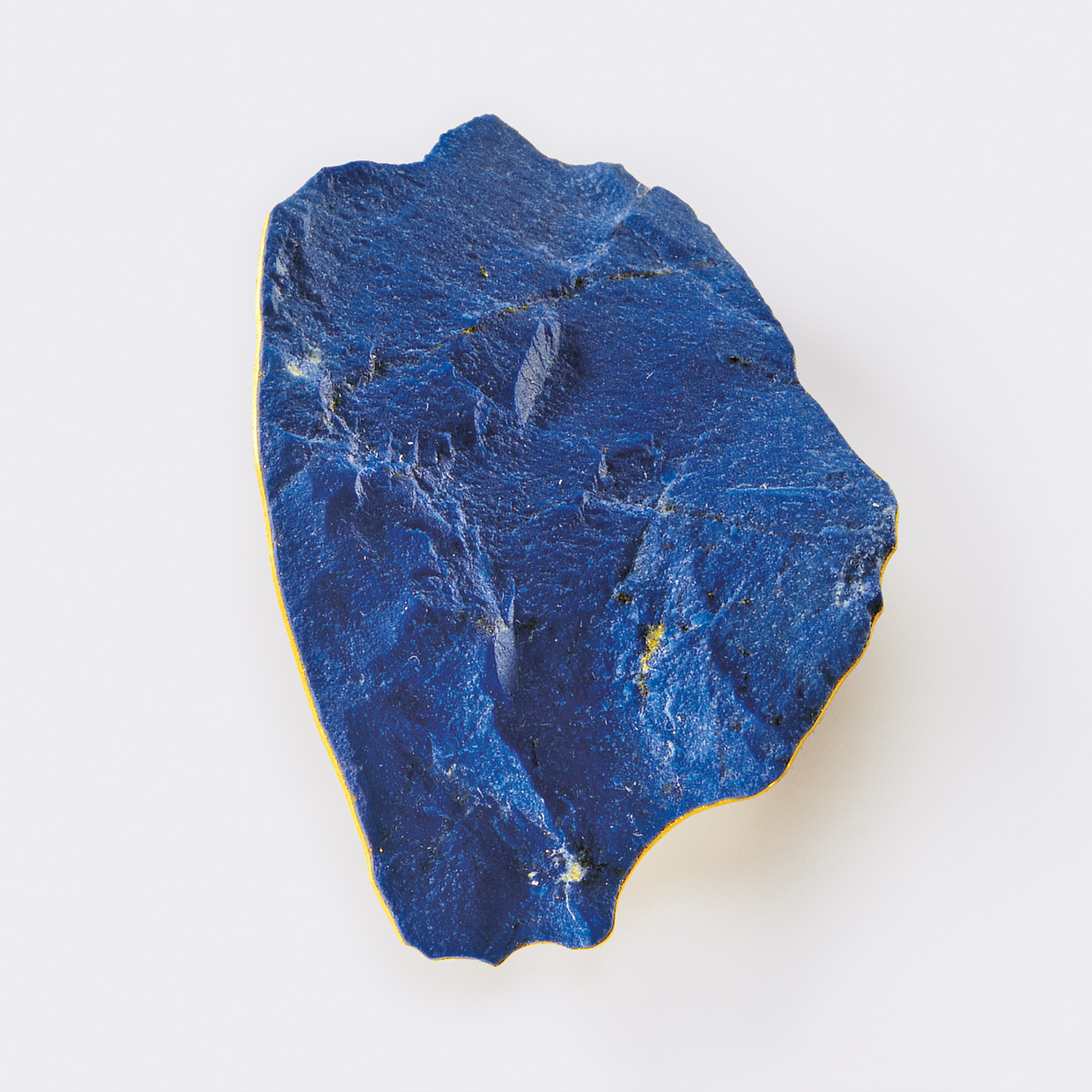 brooch  2010  gold  750  lapislazuli  60x40  mm