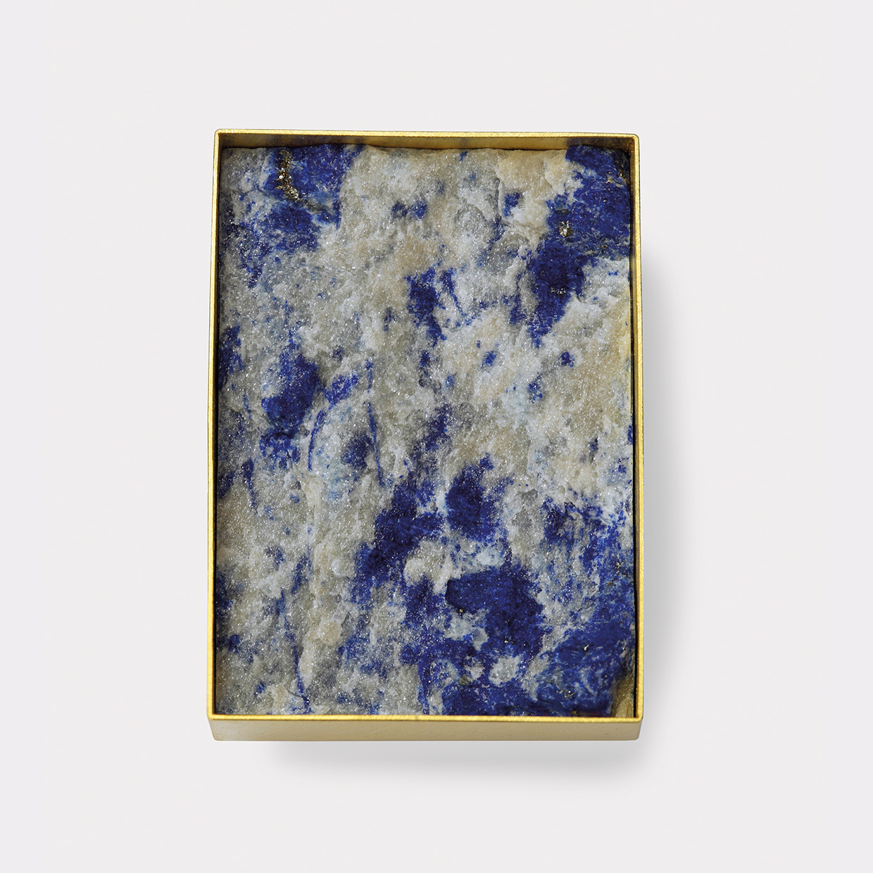 brooch  2013  gold  750  lapislazuli  43x30  mm