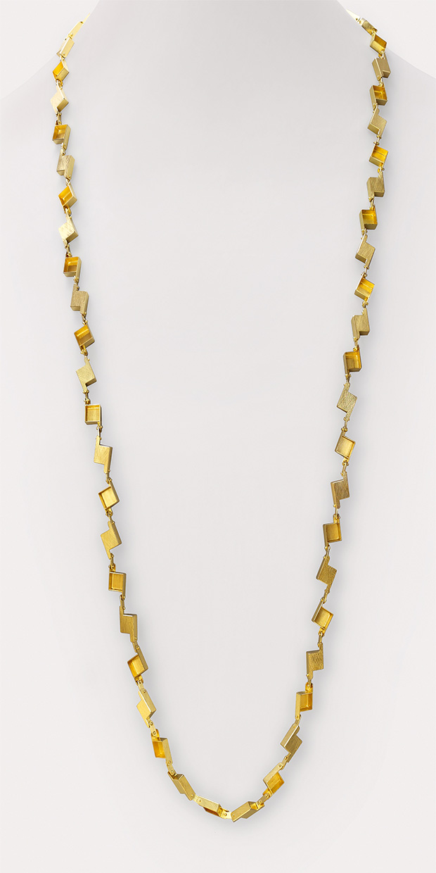 necklace  2015  gold  750  1075x10x4  mm