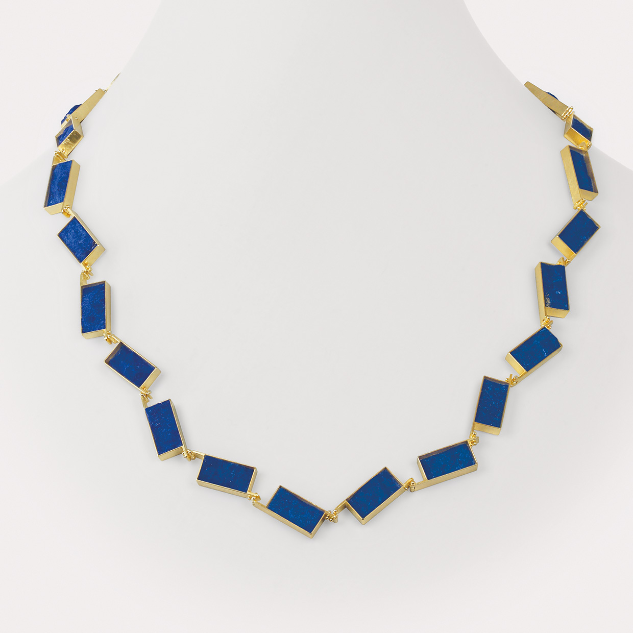 necklace  2015  gold  750  lapislazuli  620x20x4  mm