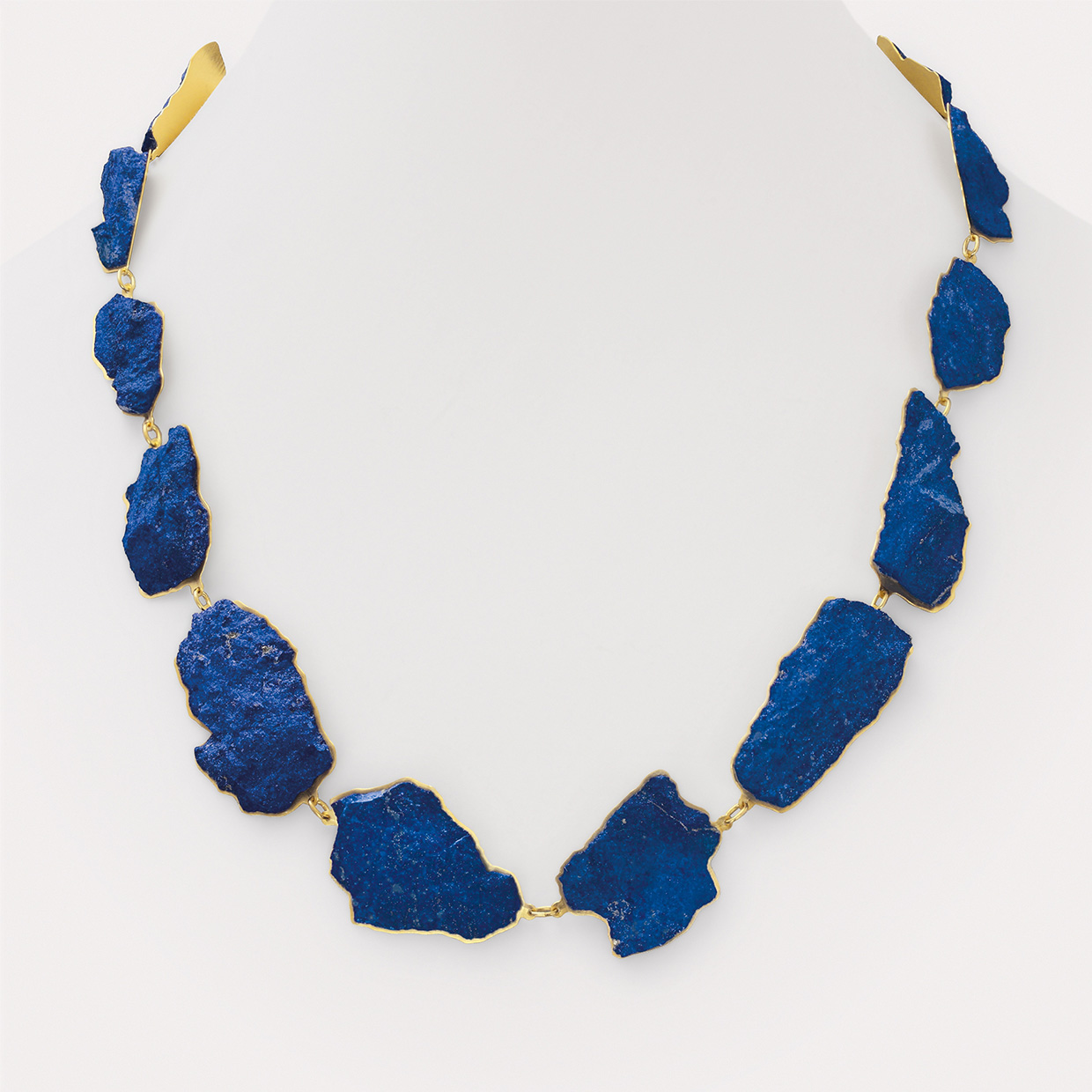 necklace  2015  gold  750  lapislazuli  630x30  mm