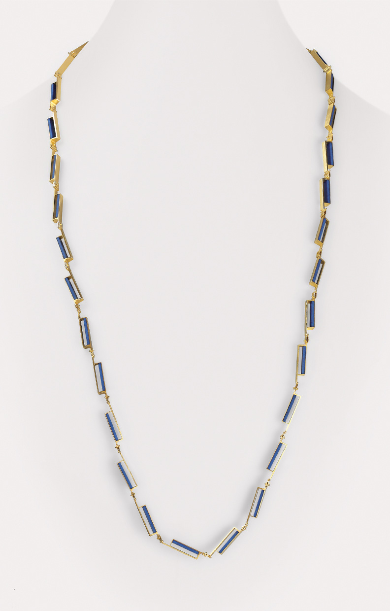 necklace  2015  gold  750  lapislazuli  900x5  mm