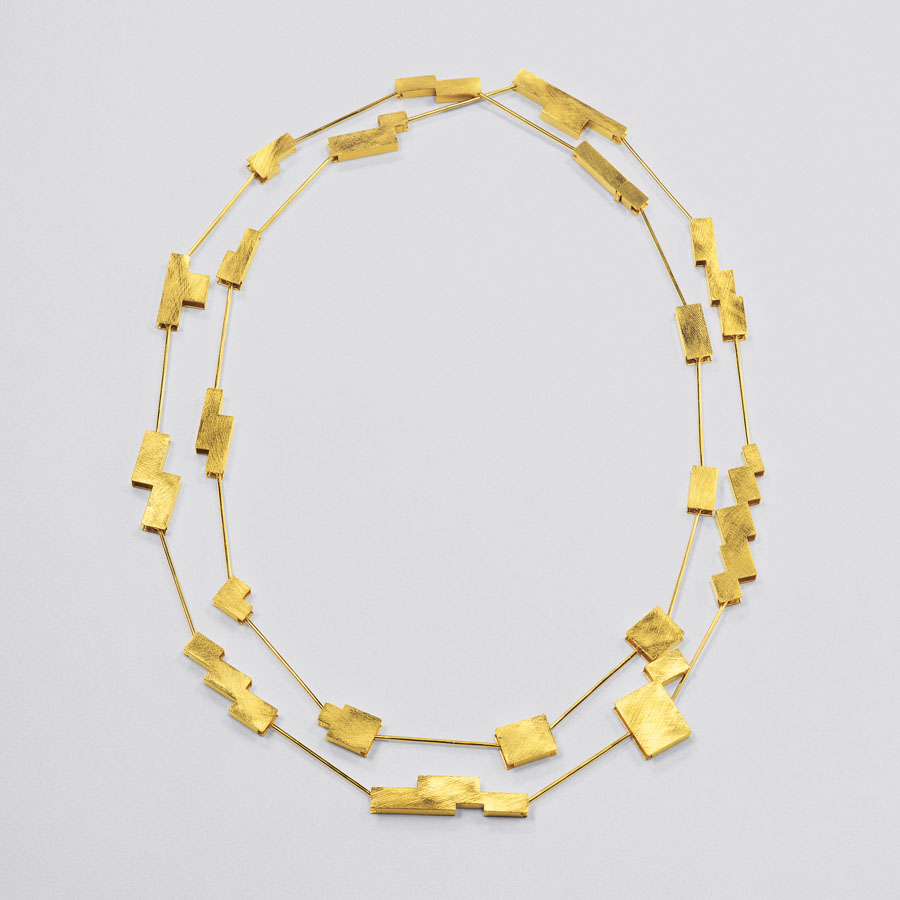 necklace  2006  gold 750  1000x5-22  mm