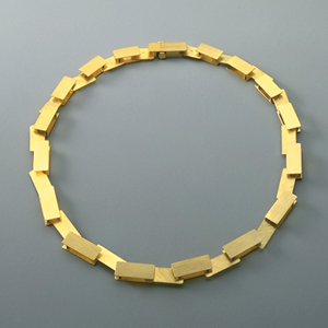 necklace  1996  gold 750  440x9  mm