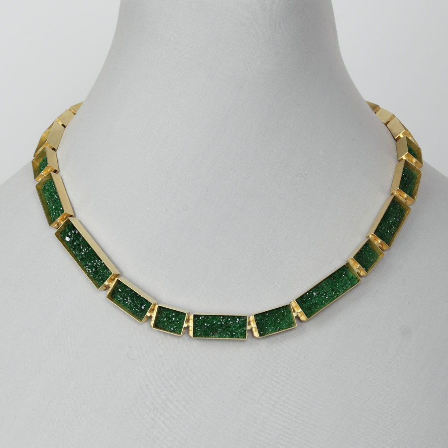 necklace  2013  gold 750  uwarovit  490x9  mm