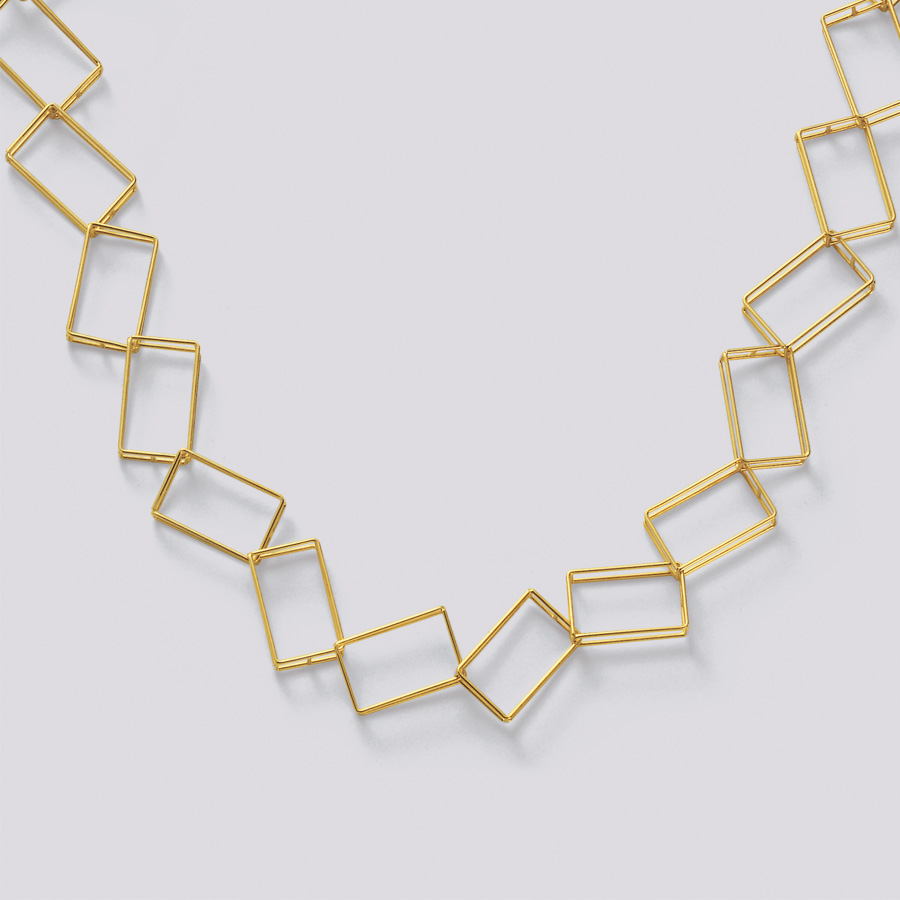 necklace  2009  gold 750  465x15  mm