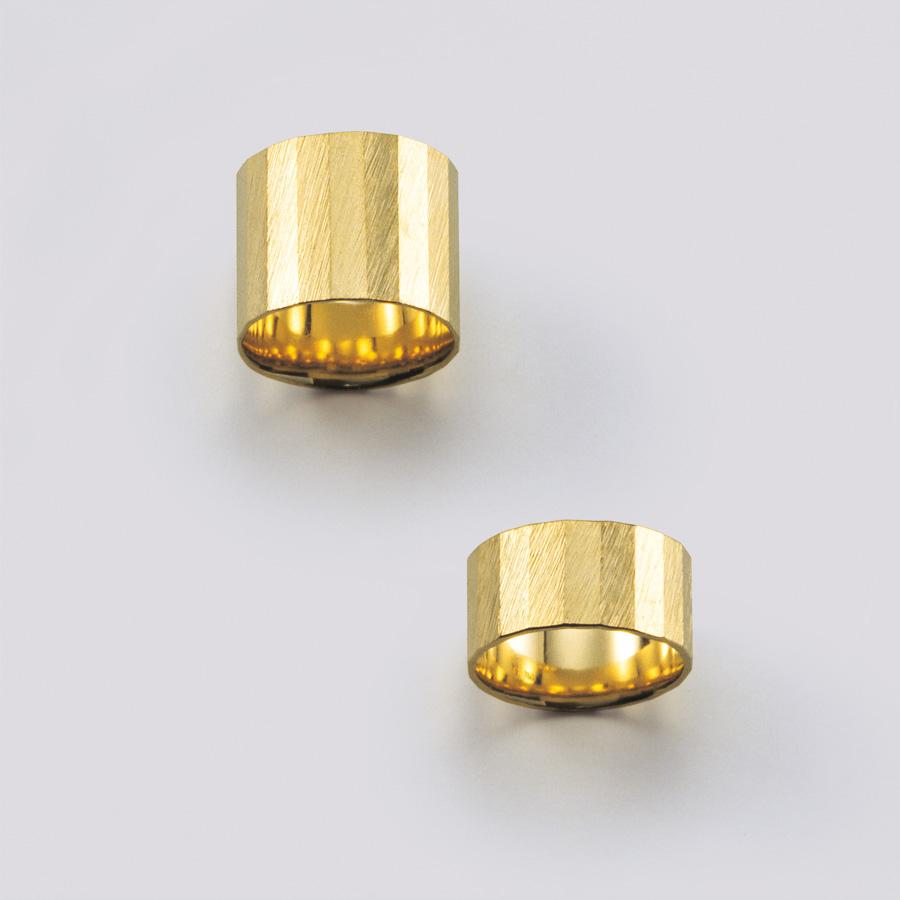Ringe  2008  Gold 750  24eckig  B  12,8  mm