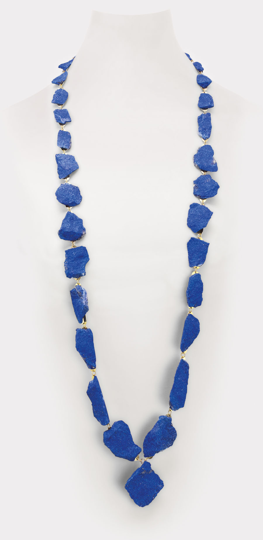 necklace  2013  gold 750  lapislazuli  1100x10-30  mm