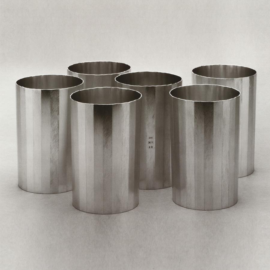 6  Becher  1989  Silber 925  100x69  mm