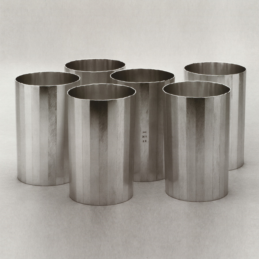6  bowls  1989  silver 925  100x69  mm