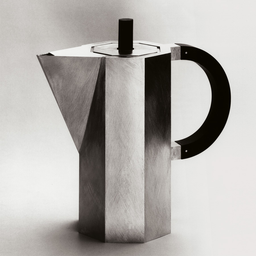 coffee pot  1988  silver 925  ebony  220x110  mm