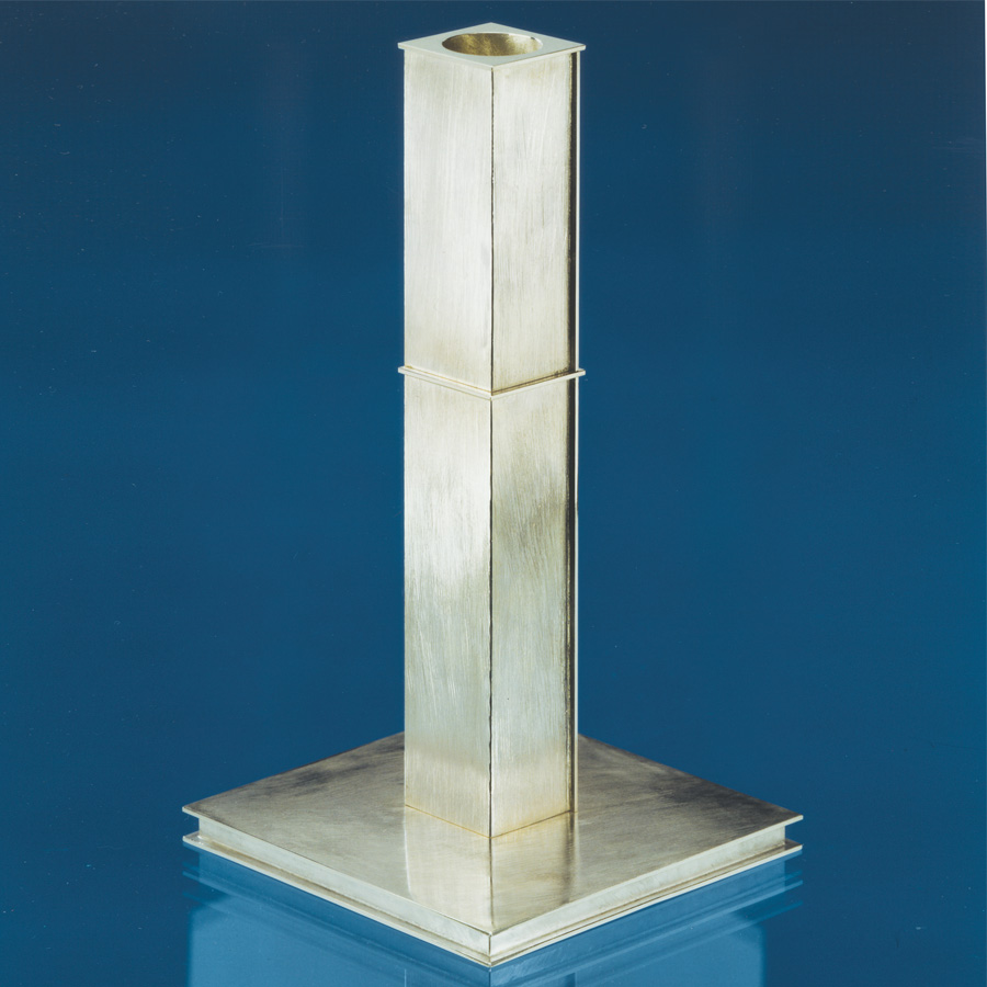 candleholder  1988  silver 925  105x105x195  mm