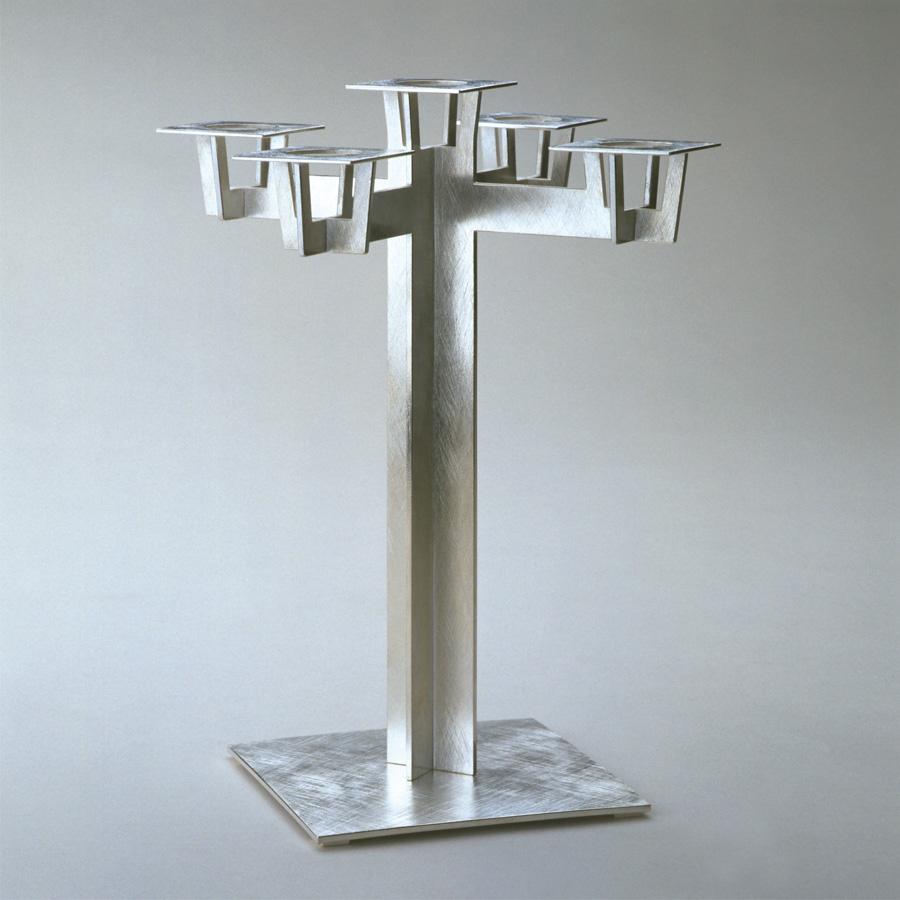 Leuchter  2004  Silber 925  235x164x164  mm  matt