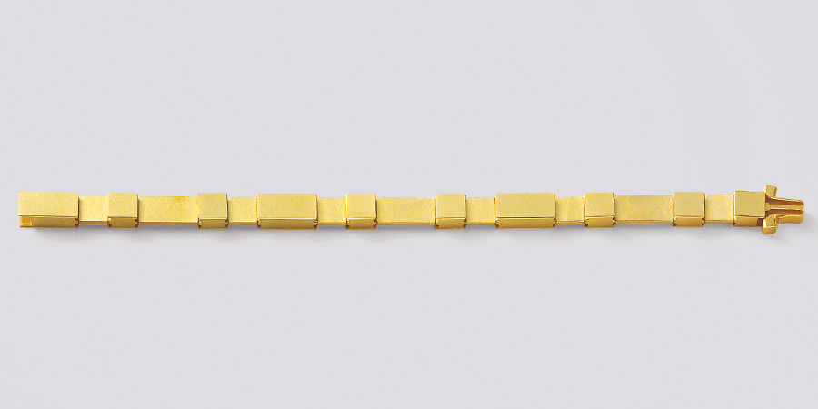 bracelet  2000  gold  750  175x7  mm