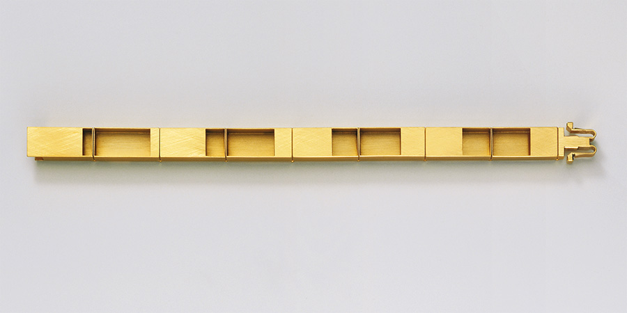 bracelet  2006  gold  750  178x10  mm