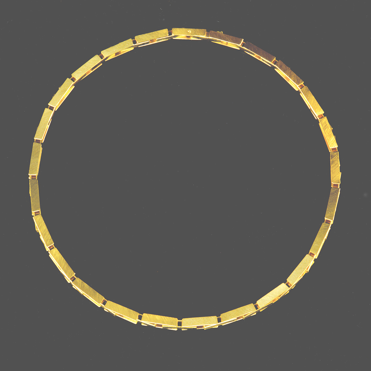 necklace  1991  gold  750  420x5  mm