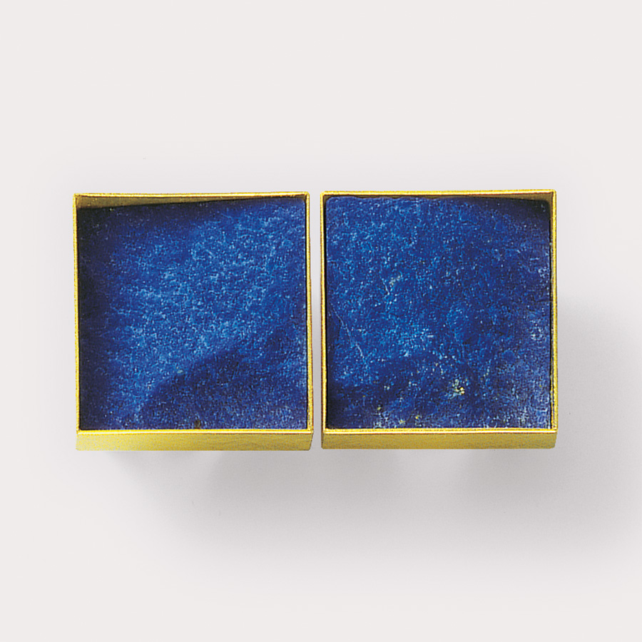 Ohrclips  2008  Gold  750  Lapislazuli  20x20  mm