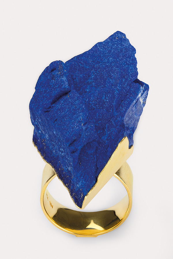ring  2017  gold  750  lapislazuli  40x25  mm
