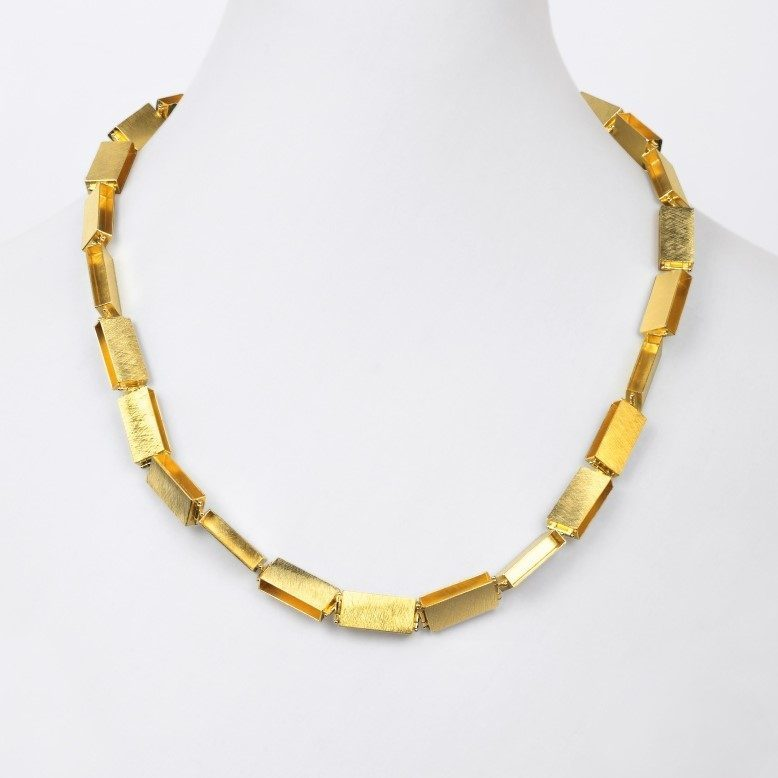 necklace  2013  gold 750  600x10mm