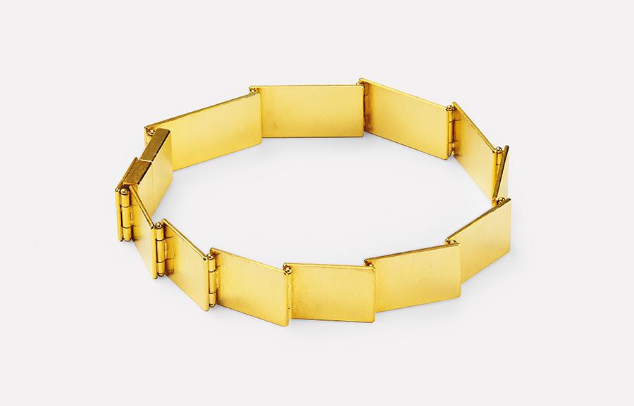 bracelet  2019  gold  750  180x10  mm