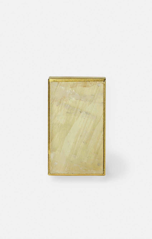 brooch  2019  gold  750  fadenquarz  32x19  mm