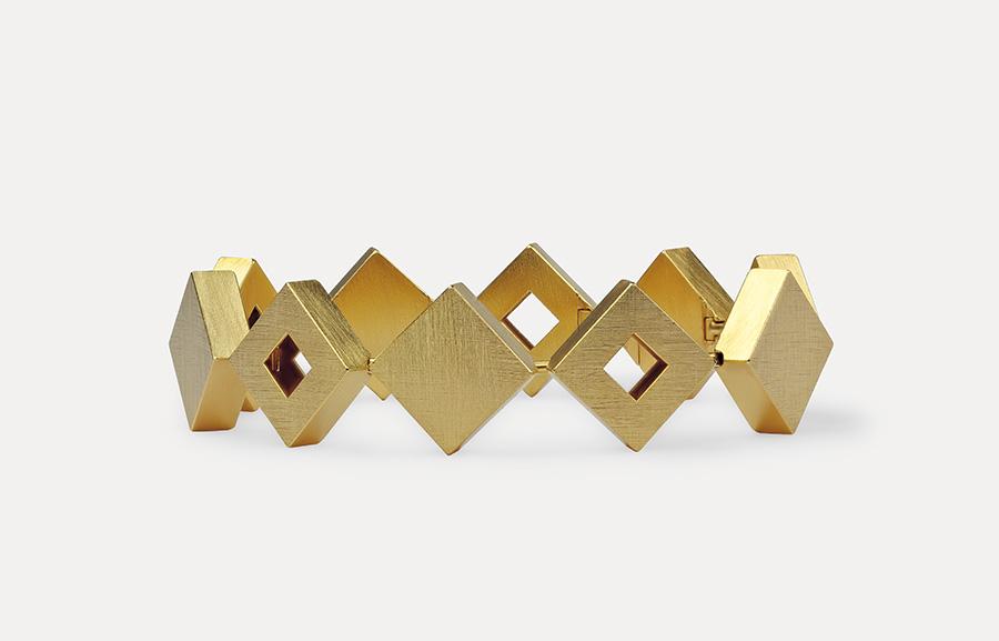 bracelet  2020  gold  750  184x14,5  mm
